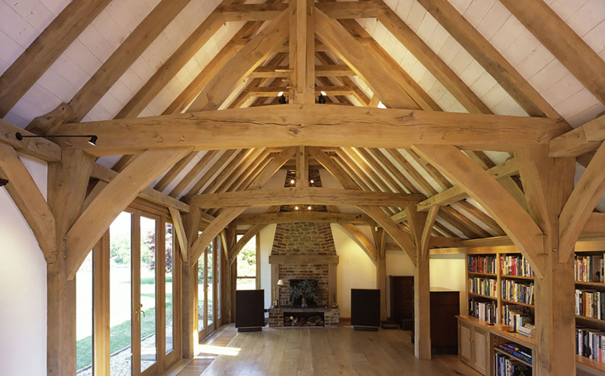 Oak Frame Extensions Green Oak Carpentry Company