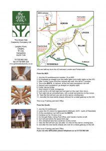 Green Oak Carpentry Company map