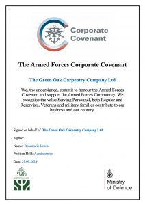 The Armed Forces Corporate Covenant
